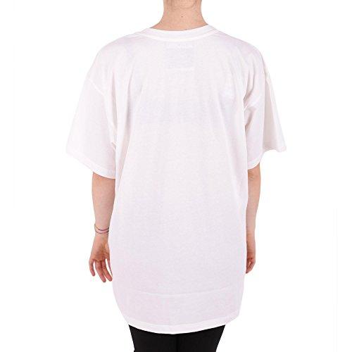 Moschino T-Shirt Donna A07045401001 Cotone Bianco