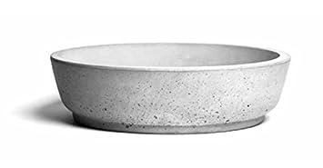 BETON Waschbecken, Aufsatzwaschbecken, CIRCUM 42: Amazon.de: Baumarkt