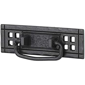 "PN8005-SAM 4 7//8/"" Horizontal Bail Cabinet Drawer Knob Pull Black"