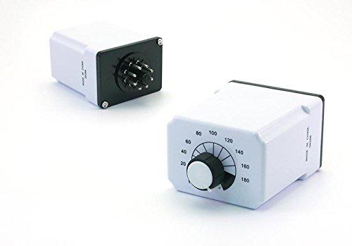 W211ACPSRX-8 Electromechanical Relay 120VAC 10A DPDT (60.3x44.4x74.4)mm Socket Time Delay Relay