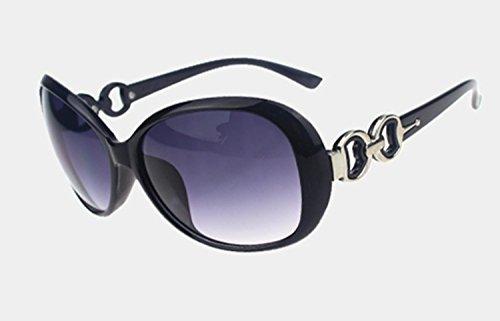de protección mujeres Rouge de UV de gafas 026 moda de sol sol de WeiMay tamaño gran gafas sol retro gafas FAwawdq8