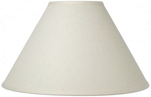 - Upgradelights Eggshell Fabric 12 Inch Chimney Style Oil Lamp Shade Replacement (4x12x6.5)