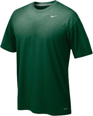 Nike Men's Legend Short Sleeve Tee, Dark Green, S