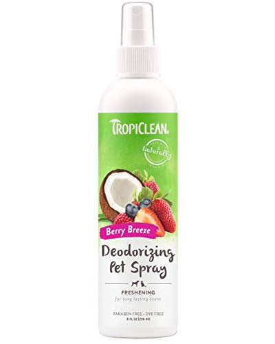TropiClean Berry Breeze Deodorizing Pet Spray