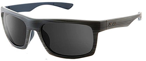 Zeal Optics - Drifter - Grey Woodgrain Frame-Dark Grey Le...