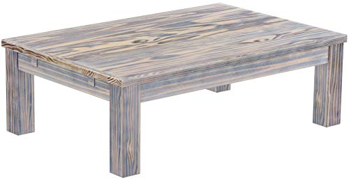 Madera Counter - Brazilfurniture Coffee Table Rio, 47.2 x 31.5 Zebra Africa Solid Pine Wood Oiled, Modern Wooden Office Conference Desk Kitchen