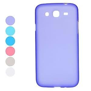 TY- Sólido estuche protector del color para Samsung Galaxy I9150 Mega 5.8 (varios colores) , Azul marinero