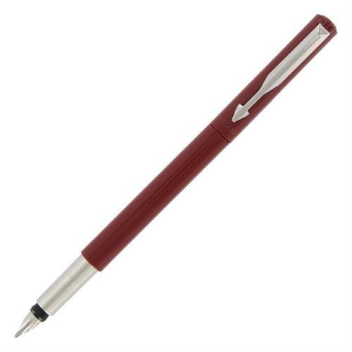 (Parker Vector Red Fountain Pen Fine Nib, SM50136052 )