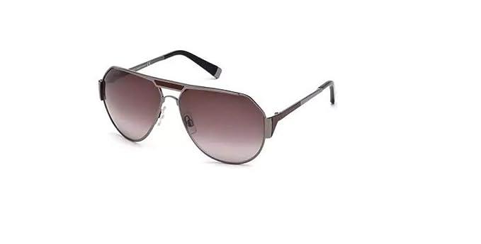 Amazon.com: Dsquared2 Gafas de sol DQ 0062 08T brillante ...