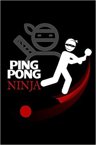 Ping Pong Ninja: Blank Paper Sketch Book - Artist Sketch Pad ...