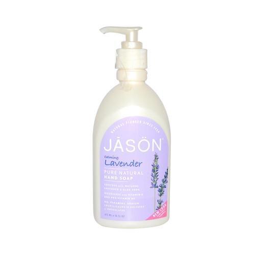 Lavender Satin Liquid Soap (Jason Natural Products Lavender Liquid Satin Soap 473 ml by Jason Natural)