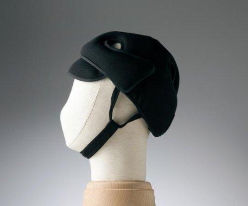 特殊衣料8-6513-04保護帽[アボネットガードD]普通サイズブラック B07BD2W8ZM