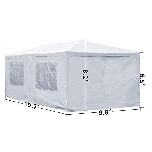 Gazebo Wedding Canopy Party Tent 10x20ft Gazebo Canopy Party Tent Outdoor Event