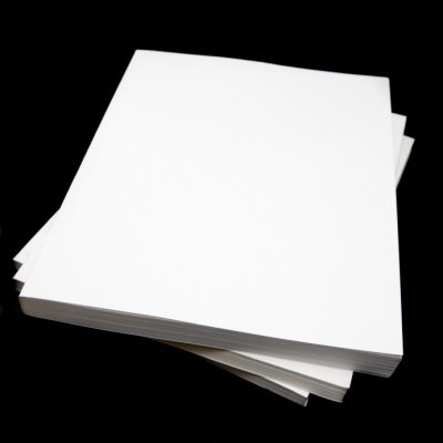 Inkjet Photo Transfer Paper 25 Sheets - Light Color Fabric - 8 1/2 X 11 Inches by world-paper (Paper Transfer Iron)