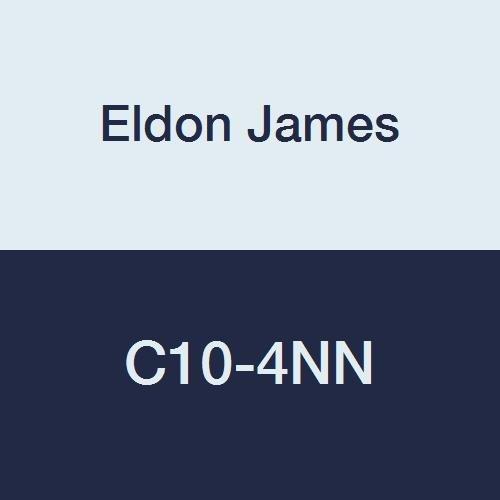 5//8 Hose Barb to 1//4 Hose Barb Pack of 10 Eldon James C10-4NN Natural Nylon Reduction Coupler