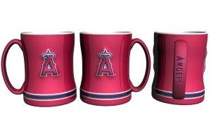 - Boelter Brands Los Angeles Angels of Anaheim Sculpted Coffee Mug