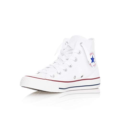Chuck Taylor All Star Canvas High Top, Optical White, 16