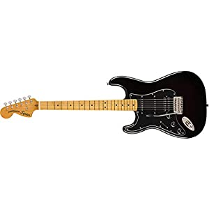 Squier Classic Vibe 70s Stratocaster HSS, Left-Handed – MN – Black