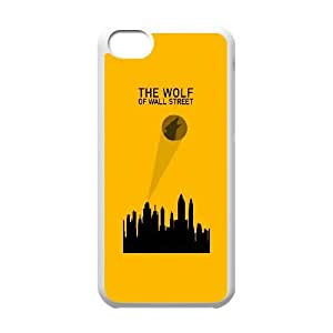 The Wolf Of Wall Street Alternative Poster iPhone 5c Cell Phone Case White phone component AU_528067