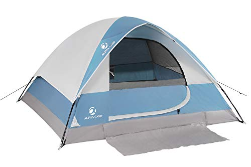 ALPHA-CAMP-24-Person-Camping-Dome-Tent-with-Carry-Bag-Lightweight-Waterproof-Portable-Backpacking-Tent-for-Outdoor-CampingHiking