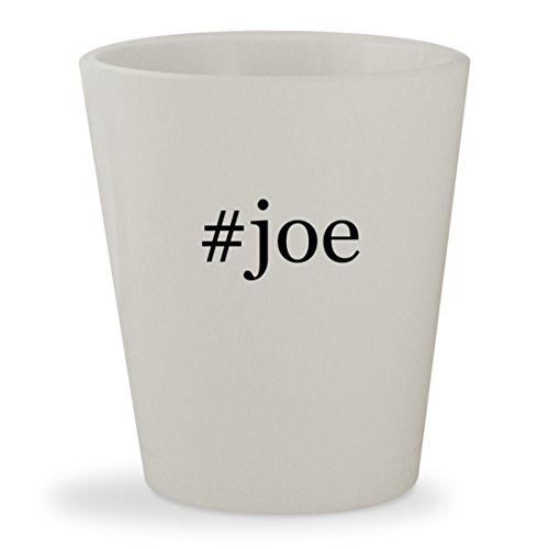 #joe - White Hashtag Ceramic 1.5oz Shot Glass