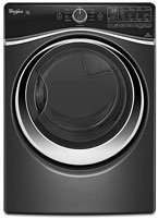Whirlpool WGD97HEDBD Duet 7.4 Cu. Ft. Black Dimond Stackable With Steam Cycle Gas - Center Dimond Stores