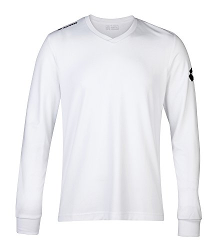Lotto Jersey Long Sleeve Team Evo - White - L