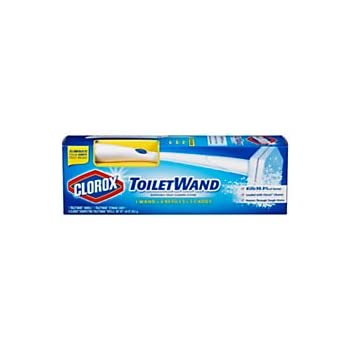 Clorox ToiletWand Disposable Toilet Cleaning System with 1 Caddy & 6 Refills 1 ea