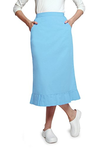 Adar Universal Pleat Flounce Scrub Skirt