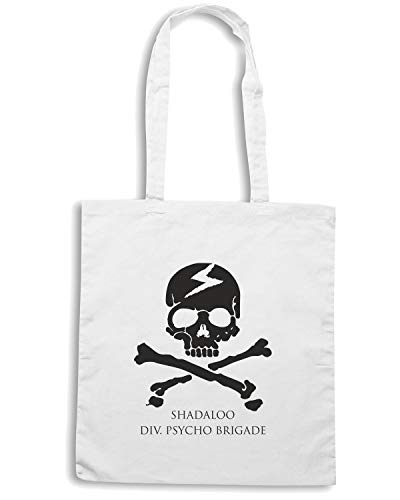DIV Bianca Shirt TM0391 USA SHADALOO Borsa BRIGADE PSYCHO Speed Shopper PHUYtq