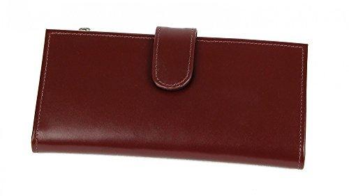 Claire Chase Women's Slimline Wallet, Cognac