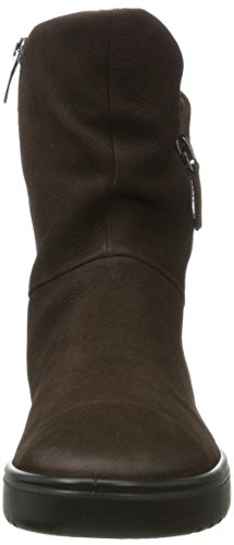 Brown ECCO Fara 2072 Women's Coffee Boots Black OqCq4xZS