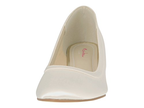 Coloured Creme Niedriges Shoes Elfenbein Damen Elsa UOxqTdvUw