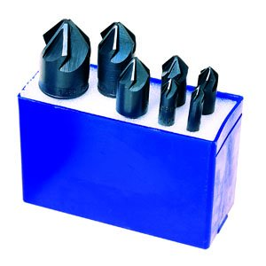 PART NO. MAF79006 M.A. FORD 79006, 7-Piece Chatterless 6-Flute Countersink Set, 82 Degree ()