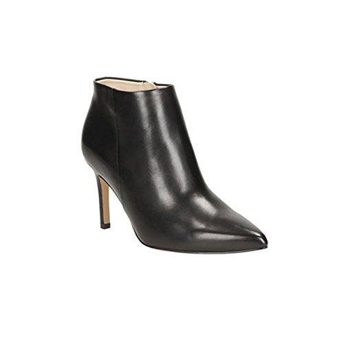 CLARKS Shoes Womens 8 Size Leather Black Pixie Dinah qqBcOUp7f