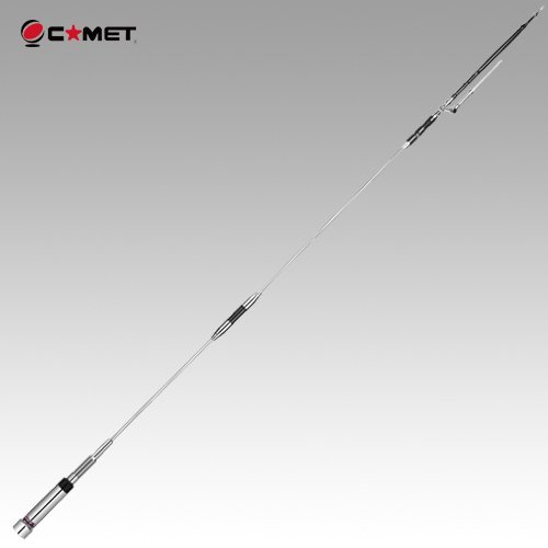 Comet UHV-4 2/6/10M/70cm Quad Band Mobile Antenna w/ 3 Yr Warranty by Comet