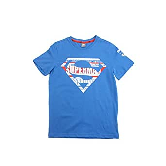 Puma Justice League Tee B Blue Shirt For Kids, Size 3-4 Years