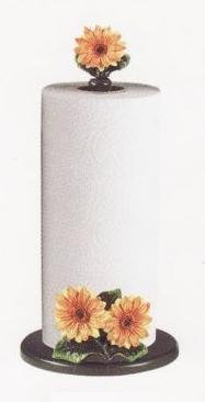 SUNFLOWER Paper Towel Holder / Stand