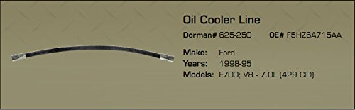 Ford Medium Duty, F700; V8-7.0L (429 CID) Oil Cooler Line 1998-95 by A&I,FT