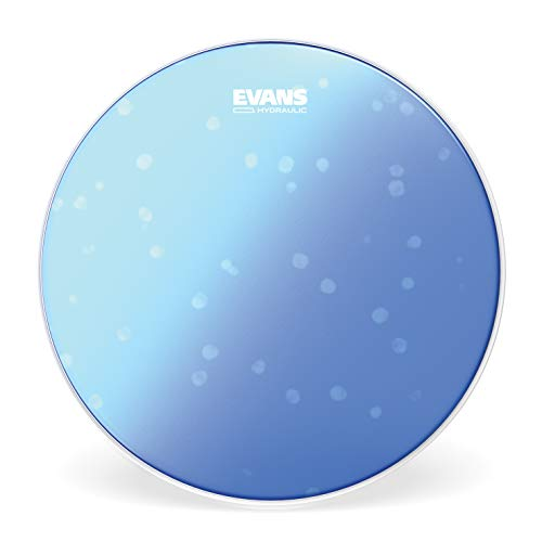 Evans Hydraulic Blue Snare Batter Drum Head, 14 Inch (Evans Hybrid Marching Snare Drum Batter Head)