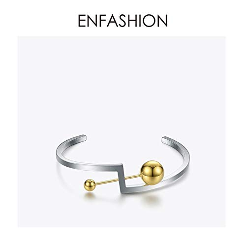 Geometric Bangles   Stainless Steel Bracelets Cuff Armbands   Metal Beads Bangles   for Women Cartier Love Necklace Price