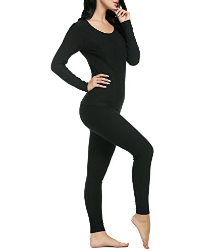 Hufcor-Womens-Long-Thermal-Underwear-Fleece-Lined-Winter-Base-Layering-Set