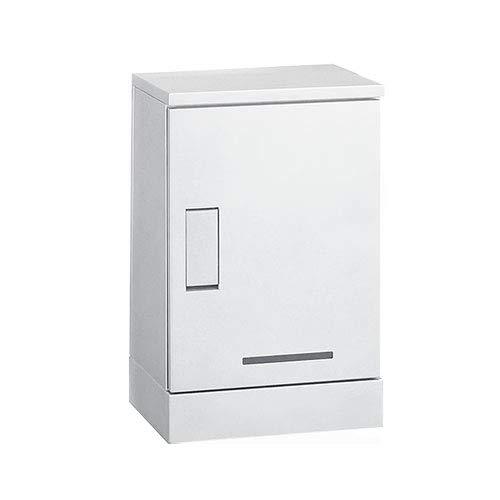 集合用宅配BOX ルスポシェアー BOX1段架台設置タイプ 河村電器産業 奥行310mm ホワイト 防水 受注生産品   B07LFRL2M6