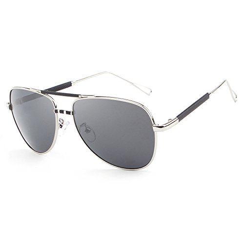 de gafas Sol vendimia Gafas Ruiyue Gafas de Black polarizadas Gafas sol Diseñador Gafas marca masculinas de de de hombres UV De Gafas viaje piloto sol la de de clásica la 4apq6