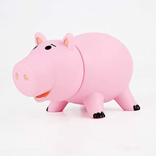 16cm (6.3 inch) - Pink Pig Hamm Piggy Bank PVC Figure Toys Coin Money Box Model Collection Doll