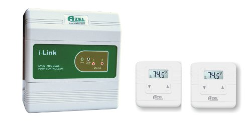 Package Deal: SP-82 with 2 units of D-135E Digital Thermostats for Hydronic Radiant Floor Heating Systems