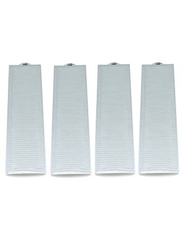 4 Bissell Style 8 & 14 HEPA Filter Generic Part By ZVac. Replaces Part Numbers 2036608, 3091, 203-6608 Fits: All Bissell Lift-Off, Momentum And Velocity Series Bagless Upright Models