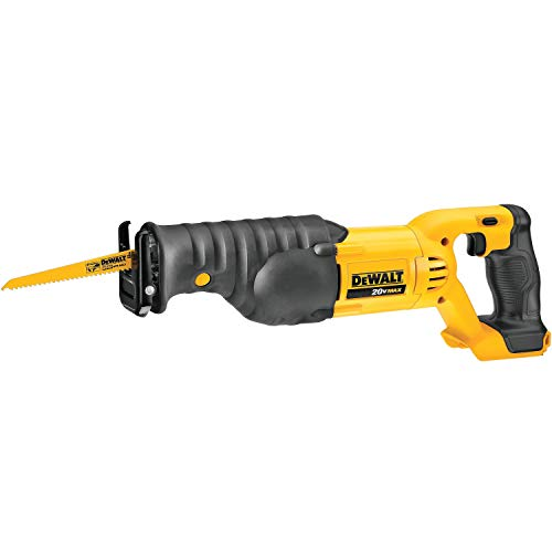 Dewalt DCS380BR 20V MAX Cordless Lithium-Ion Reciprocating Saw (Bare Tool) (Renewed) ()