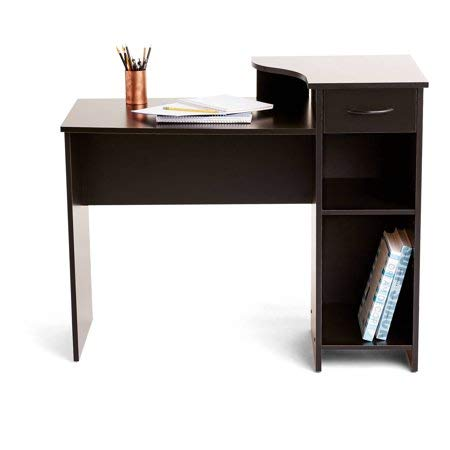 Mainstays Student Desk Blackwood + Cleaning Cloth