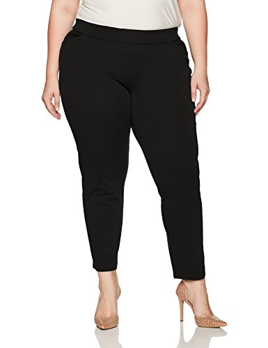 Chic-Classic-Collection-Womens-Plus-Size-Knit-Pull-on-Pant